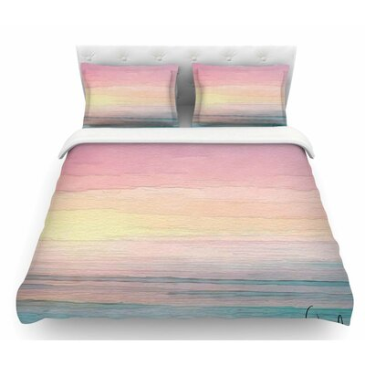 Capri by Oriana Cordero Featherweight Duvet Cover Size: Twin