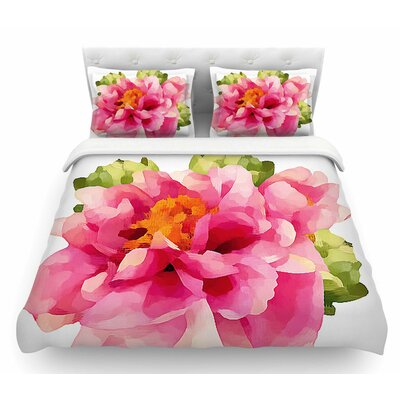 Peonies by Oriana Cordero Featherweight Duvet Cover Size: King