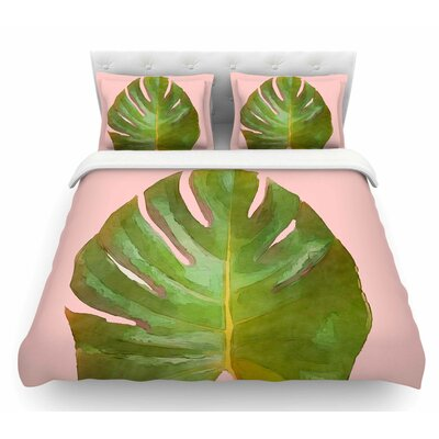 Tropico by Oriana Cordero Featherweight Duvet Cover Size: King