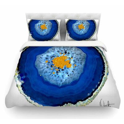 Agate by Oriana Cordero Featherweight Duvet Cover Size: Twin