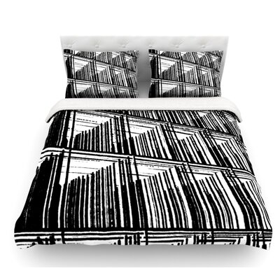 Celik by Trebam Lines Featherweight Duvet Cover Size: Twin