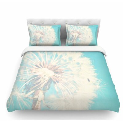 Dandelion by Sylvia Coomes Floral Featherweight Duvet Cover Size: Queen
