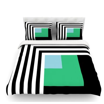 Kutovi by Trebam Featherweight Duvet Cover Size: Queen