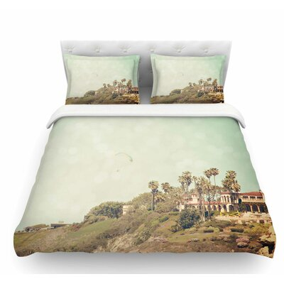 West Coast 1 by Sylvia Coomes Coastal Featherweight Duvet Cover Size: King
