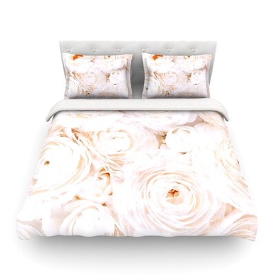 Blessed Rose by Heidi Jennings Featherweight Duvet Cover Size: King