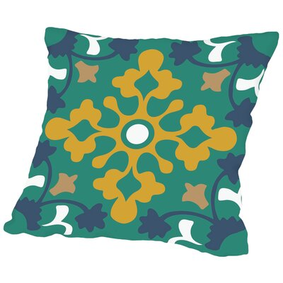 Pattern Throw Pillow Size: 14 H x 14 W x 2 D