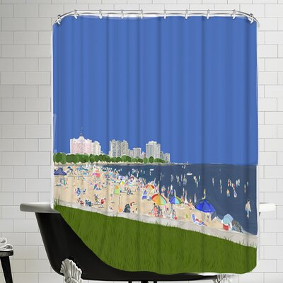 Labor Day 3 Shower Curtain