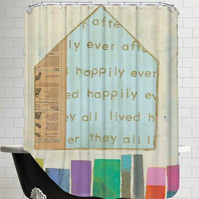 Happy Home In Shower Curtain