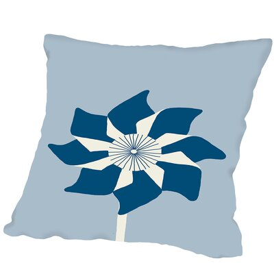 Pinwheel Outdoor Throw Pillow Size: 18 H x 18 W x 2 D