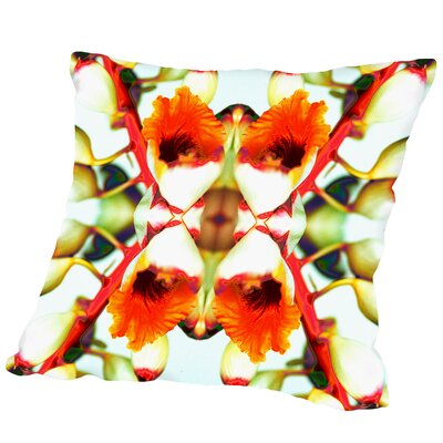 Ginger4 Square Outdoor Throw Pillow Size: 16 H x 16 W x 2 D