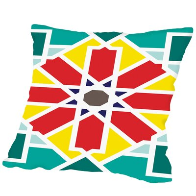 Pattern Multi Outdoor Throw Pillow Size: 16 H x 16 W x 2 D