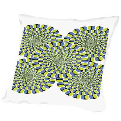 Moving Wheels Outdoor Throw Pillow Size: 20 H x 20 W x 2 D