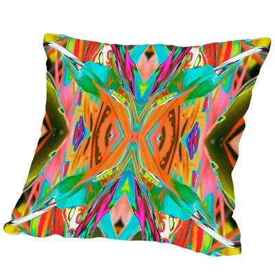 Ti Plant 1X Square Outdoor Throw Pillow Size: 20 H x 20 W x 2 D