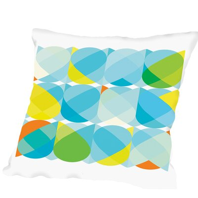 Pattern Outdoor Throw Pillow Size: 20 H x 20 W x 2 D