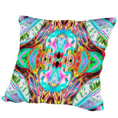 Leaves2 Square Outdoor Throw Pillow Size: 18 H x 18 W x 2 D