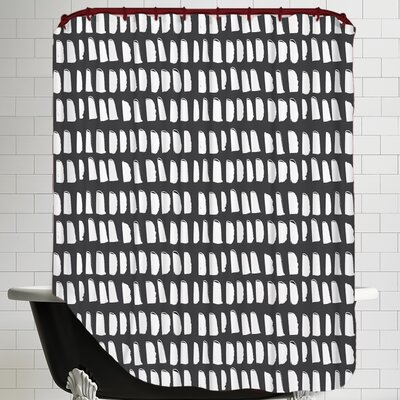Gazania Dash Shower Curtain