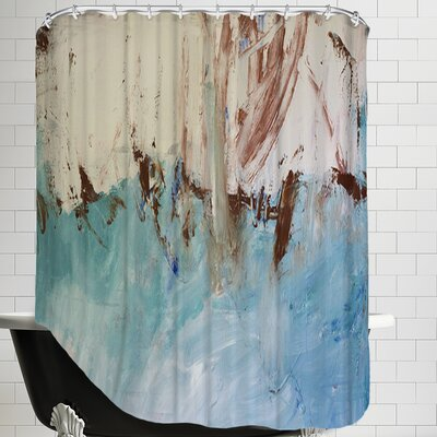 River Flows Through Shower Curtain