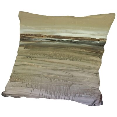 Zen Earth Throw Pillow Size: 14 H x 14 W x 2 D