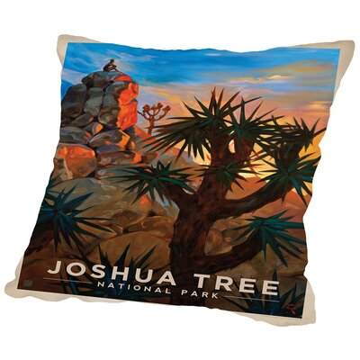 Joshuatree Throw Pillow Size: 14 H x 14 W x 2 D