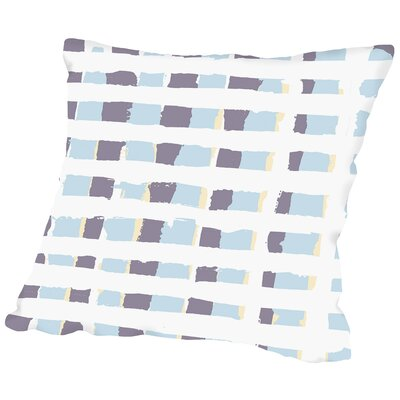 Posey Plaid Throw Pillow Size: 16 H x 16 W x 2 D