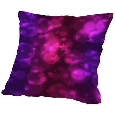 Star Design Christmas Throw Pillow Size: 14 H x 14 W x 2 D