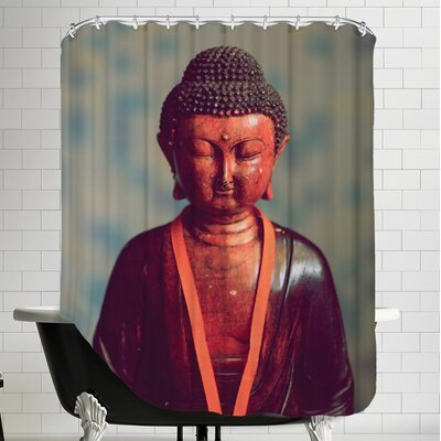 Buddha Yoga Zen Religion Shower Curtain