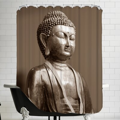 Zen Yoga Meditationn Shower Curtain