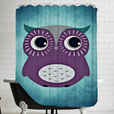 Colorful Bird Animal Trendy Shower Curtain