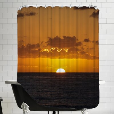 Sunset Holiday Ocean Shower Curtain