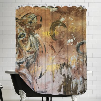 Raw Energy Shower Curtain