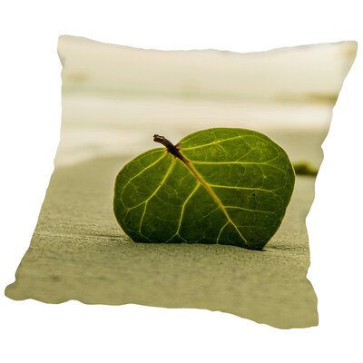 Style With Leaf Throw Pillow Size: 14 H x 14 W x 2 D