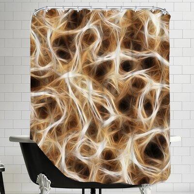Healthy Nerve Shower Curtain