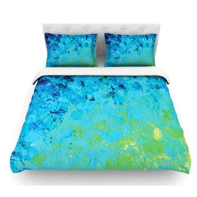 True Reflection by Ebi Emporium Featherweight Duvet Cover Size: Queen