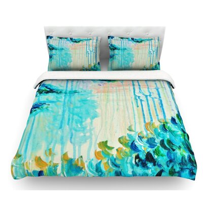 Poseidons Wrath by Ebi Emporium Featherweight Duvet Cover Size: King, Fabric: Woven Polyester