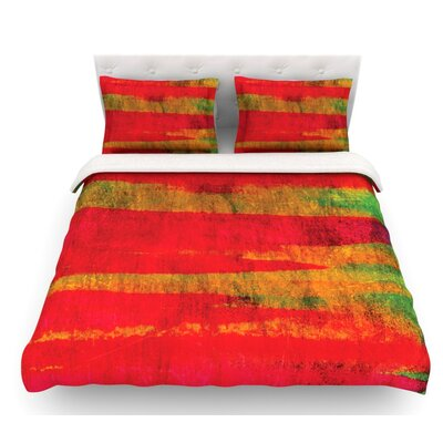 Fierce by Ebi Emporium Featherweight Duvet Cover Size: Twin