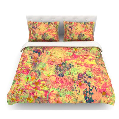 Time for Bubbly by Ebi Emporium Featherweight Duvet Cover Size: Twin, Fabric: Lightweight Polyester