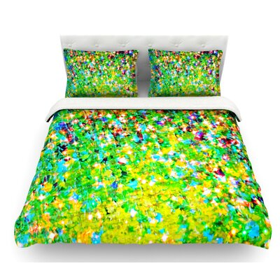 Holiday Cheer by Ebi Emporium Featherweight Duvet Cover Size: Twin