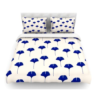 Leaf by Iris Lehnhardt Featherweight Duvet Cover Size: Twin