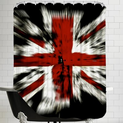 United Kingdom Flag Shower Curtain