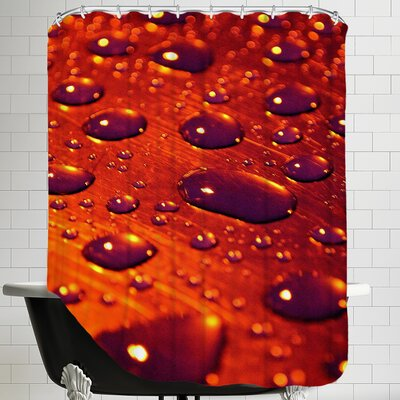 Water Drops Color Shower Curtain