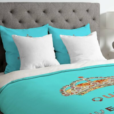 Queen Of Everything Lightweight Duvet Cover Size: King