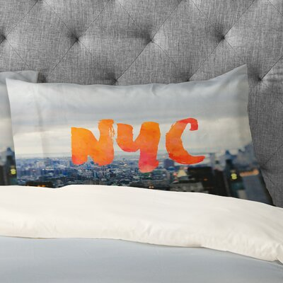 Chelsea Victoria NYC Skyline Pillowcase Size: King