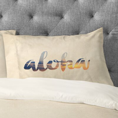 Aloha Hawaii Pillowcase Size: Standard
