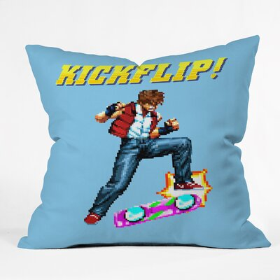 Kickflip Throw Pillow Size: 16 H x 16 W x 4 D