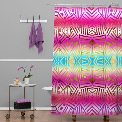 1 Polyester Shower Curtain