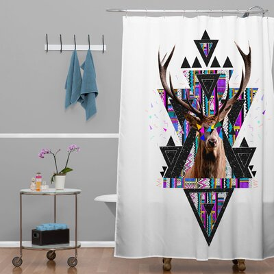 Young Memories Polyester Shower Curtain