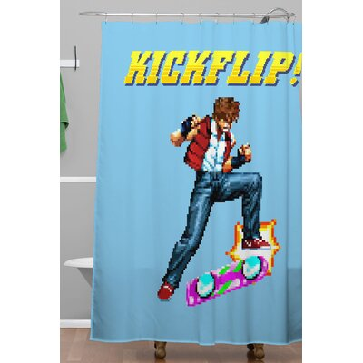 Kickflip Polyester Shower Curtain