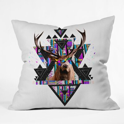 Young Memories Throw Pillow Size: 26 H x 26 W x 7 D