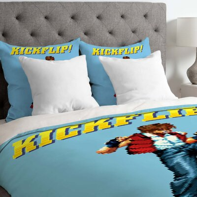 Kickflip Lightweight Duvet Cover Size: King