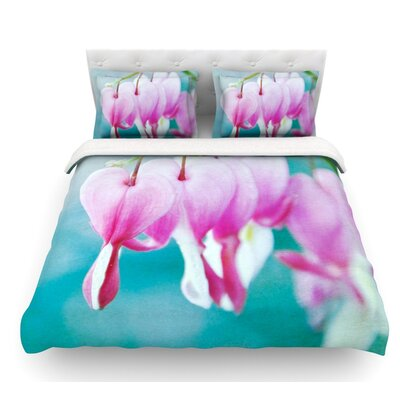 Dicentra by Iris Lehnhardt Featherweight Duvet Cover Size: Queen